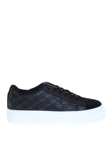 Fabrika Fabrika Deri Siyah Kadın Sneaker Siyah